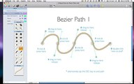 How to Draw Bezier Curves with Artboard's Smooth Vector Drawing Tools (OS X)