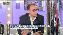 Top de l'assurance-vie en ligne 2013 - Palmarès dans l'Intégrale Placements sur BFM BUSINESS