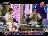 Farhan Ali waris reicting Kalam(Beti rehmat hai) at Noor e Ramazan HUM TV 12 July 2015.