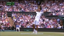 Djokovic Championship Winner Point - Djokovic v. Federer Final Wimbledon 2015