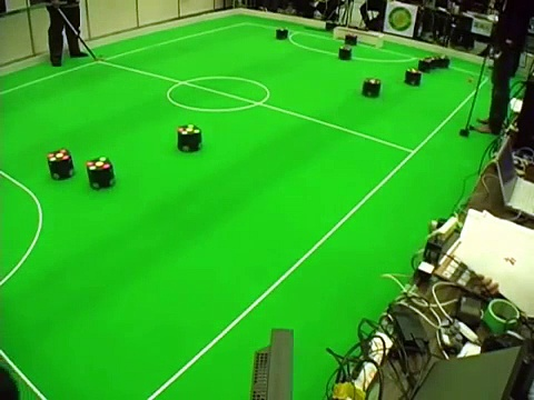 RoboCup Japan Open 2012 SSL Final