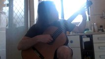 Fernando Sor Minuet in E Minor. Classical guitar.