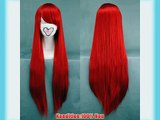 COSPLAZA Cosplay Wig Kostueme Per?cke 80cm Fairy Tail Erza Scarlet Lang Rot Haare