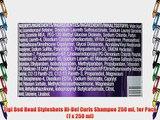 Tigi Bed Head Styleshots Hi-Def Curls Shampoo 250 ml 1er Pack (1 x 250 ml)