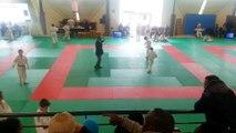 Championnat départemental séléction finale 3eme combat Nael REFOUFI en benjamin 22.03.15.