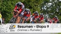 Resumen - Etapa 9 (Vannes > Plumelec) - Tour de France 2015