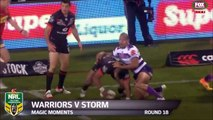 Rugby : Passe en backflip de Nathan Friend