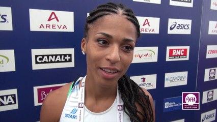 Floria Gueï : « Je bats encore mon record »