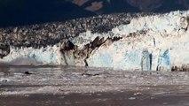 Hubbard Glacier, Alaska ~ Amazing Footage of Glacier Calving