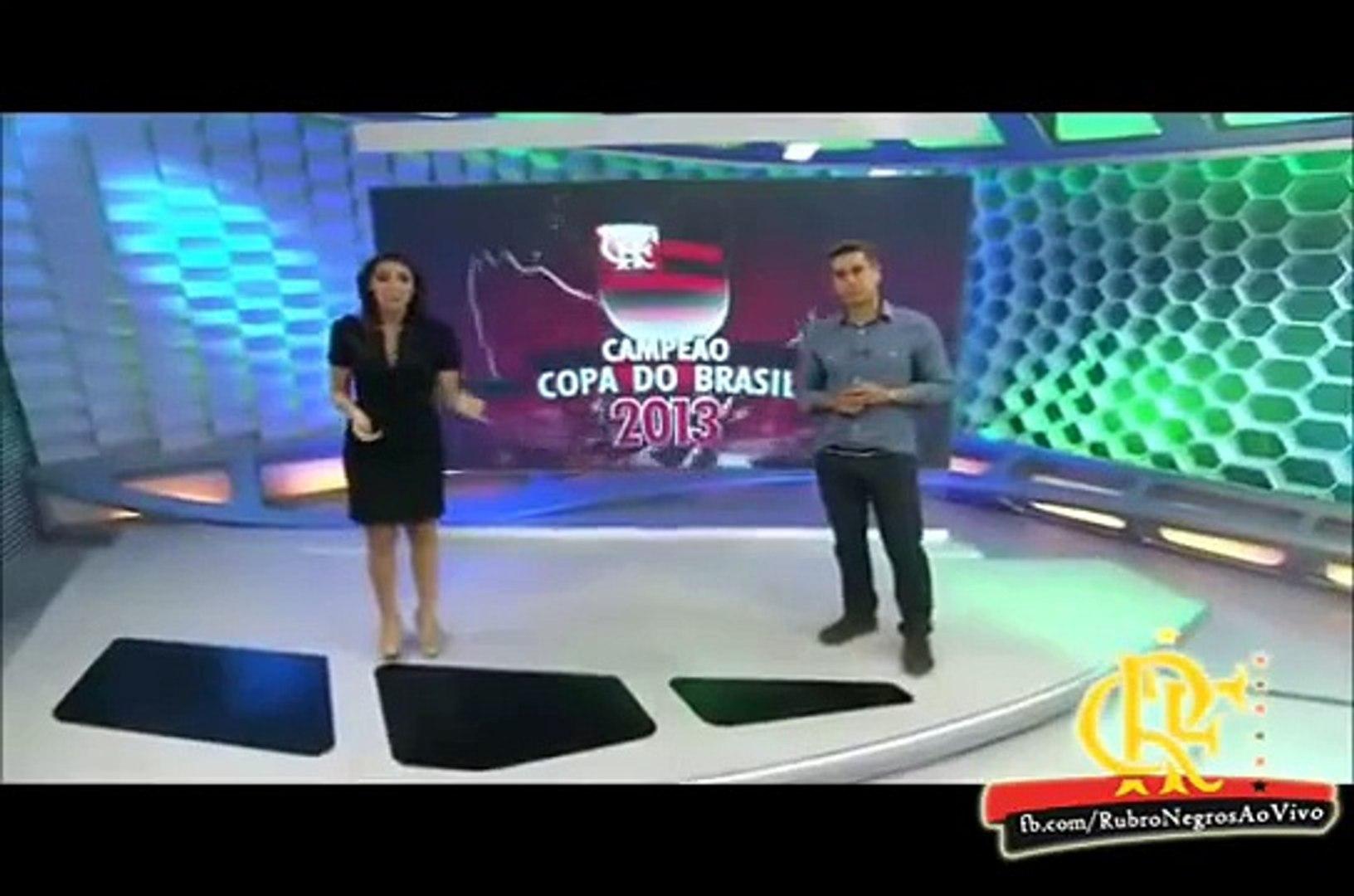 Reportagem gostosa de se ver com Regis Rosing Flamengo campeão da copa do Brasil