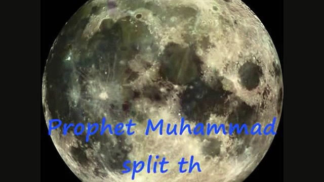 Islamic Videos Science Has Badly Proved That Moon Was Really Splitting