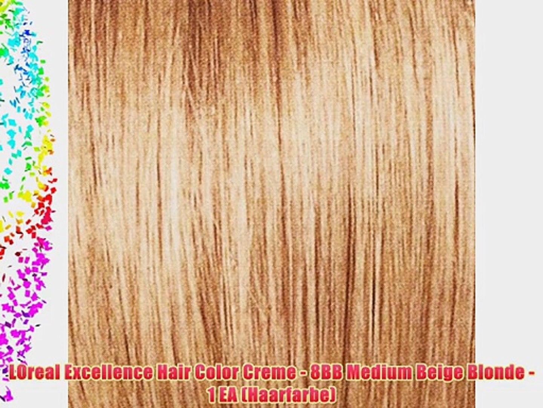 LOreal Excellence Hair Color Creme - 8BB Medium Beige Blonde - 1 EA (Haarfarbe)