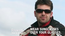 Sunglasses Made To Fit Over Glasses by Jonathan Paul® Fitovers Eyewear - Great for Riding