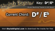 Blues Backing Tracks in any key, KEY OF D# / Eb