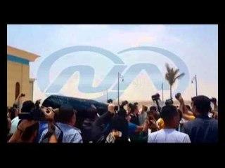 """تشييع جثمان الفنان """"عمر الشريف"""" من مسجد المشير طنطاوي"""