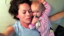 Baby won't let mom sleep