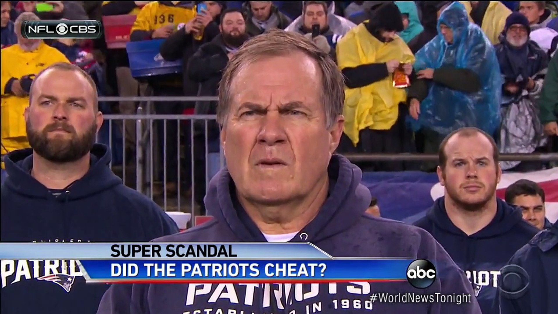 Pressure on the New England Patriots Over Under-Inflated Footballs.