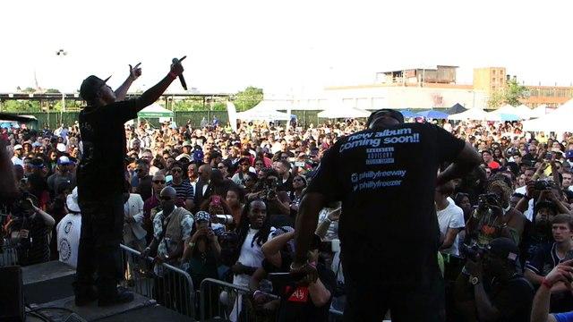"Freeway- ""Roc the Mic"" Live at the Brooklyn Hip-Hop Festival"