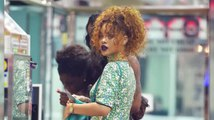 Rihanna Steps Out In New York After LAPD Investigate Stalker Gun Threats