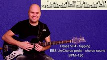 Bass Riff of the week#23 - tapping, chorus