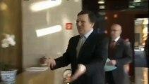 Irish Shamrocks for president Barroso to celebrate Saint Patrick's Day