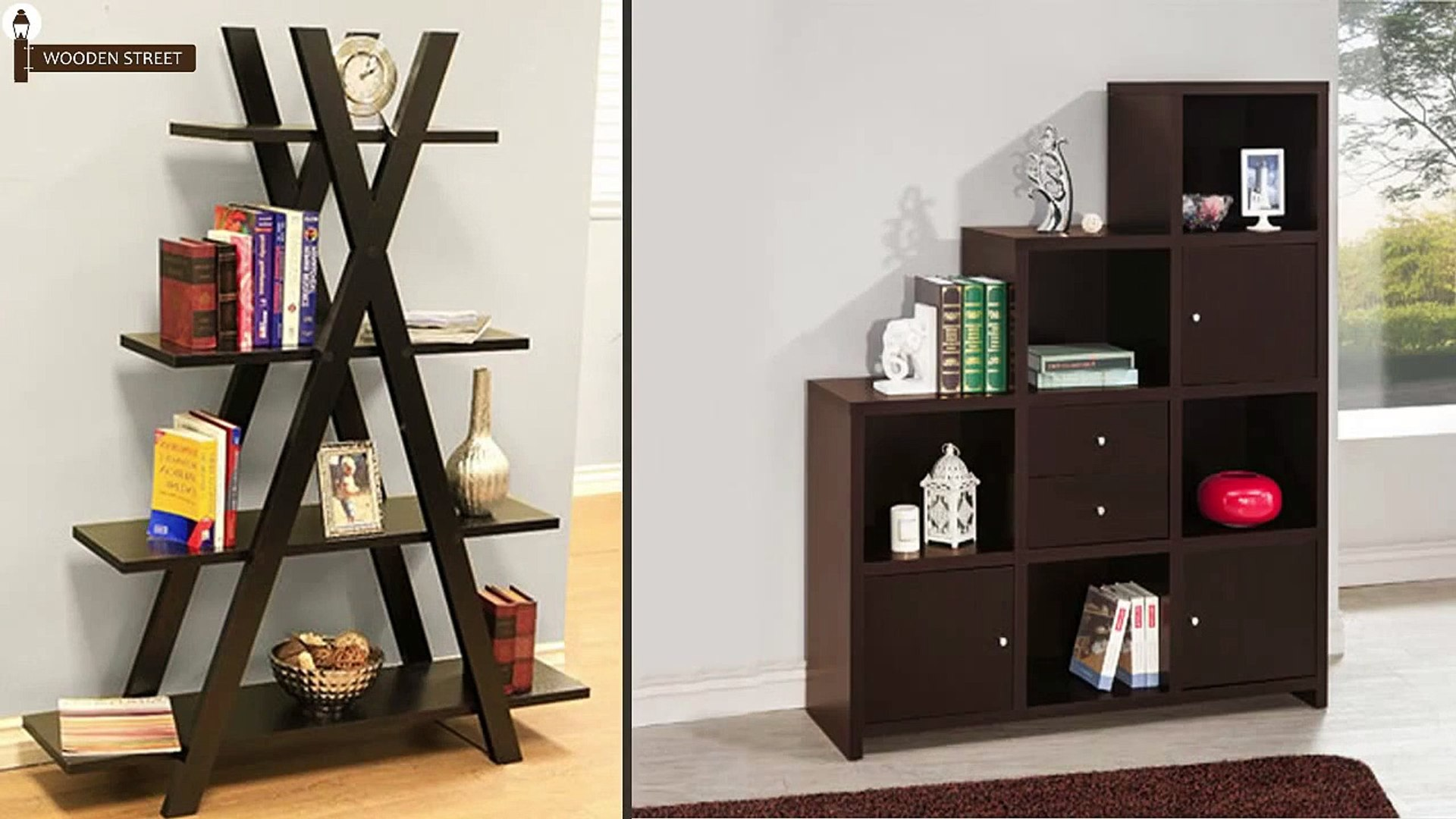 Buy Book Shelf Online Wooden Book Shelves Woodenstreet