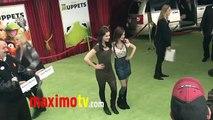 "Vanessa Marano and Laura Marano at ""The Muppets"" World Premiere Arrivals"