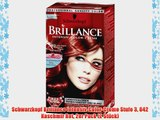 Schwarzkopf Brillance Intensiv-Color-Creme Stufe 3 842 Kaschmir Rot 2er Pack (2 St?ck)