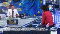 """Edition Spéciale Grèce: """"On est depuis le début de la crise en 2010 dans un dérapage progressif  !"""": Sylvie Goulard - 13/07"""
