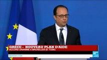 François Hollande  L'intérêt de la France c'était que la Grèce ne sorte pas de la zone euro