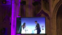 Night Fever dance for Wimbledon champions Nole and Serena Williams