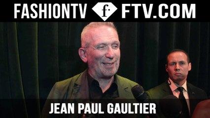 Jean Paul Gaultier After-Show | Paris Haute Couture Fall/Winter 2015/16 | FashionTV