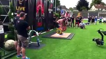 Eddie Hall Breaks Deadlift World Record 463 KG 1020 Pounds At Europe's Strongest Man
