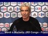 Domenech: Séléction des Bleus - 31/1/2008