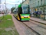 ČKD Tatra RT6N1 408 Nawrotka tyłem na Marcinkowskiego :: MPK POZnań* :: Linia numer 13