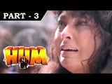 Hum [ 1991 ] - Hindi Movie in Part 3 / 13 - Rajnikanth - Amitabh Bachchan - Govinda - Kimi Katkar
