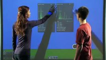 SMART Board 800 series interactive whiteboard -- Touch gestures video