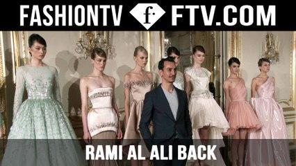 Rami Al Ali Backstage | Paris Haute Couture Fall/Winter 2015/16 | FashionTV