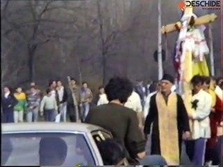 Drumul Crucii 1992 de la Chisinau la Bucuresti, pentru Basarabia (Clip)
