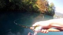 Pike fishing with top water baits, lake Bled - jezero Bled 2012 - Blejske mične gospodične