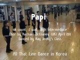 Papi - Line Dance (Demo & Walk Through)