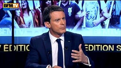 """Valls: """"Hollande s'est hissé au niveau de l'histoire"""""""