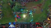 Thế giới LOl: C9 Hai Rengar VS Dignitas Helios Lee Sin Highlights {REKT}   2015 NA LCS Summer W7D2