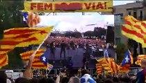Via Catalana - #11S2013 - Plaça Catalunya - Barcelona - Catalunya - Independencia - The Catalan Way