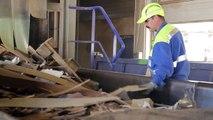 Le recyclage des meubles usagés : reportage sur un site de traitement du bois