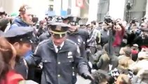OWS Sit-in and Mass Arrests at Pine and Nassau, 9am, 11/17/11