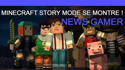 Minecraft Story Mode se dévoile ! (News Gamer #191)