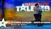 Colombia Tiene Talento - Alexander - Joseph - Baile Salsa - 1 de Marzo de 2012.