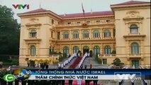 Vietnam's President Truong Tan Sang received Israel's President Shimon Peres