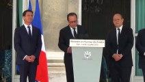 """François Hollande : """"De plus en plus de soldats effectueront des missions sur notre sol"""""""